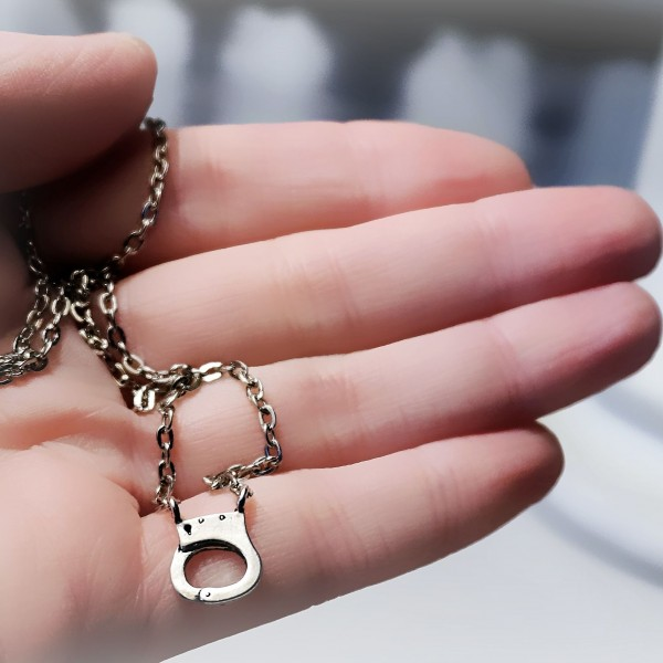 BDSM jewelry day collar handcuffs