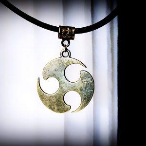 BDSM emblem symbol triskele collar