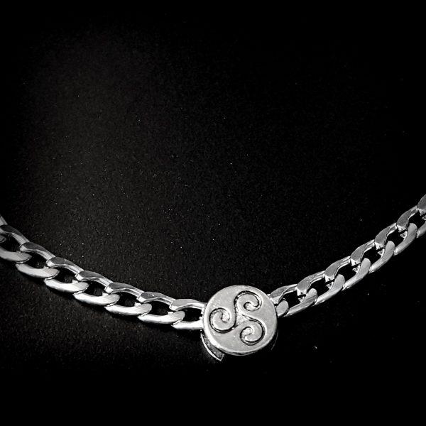 BDSM symbol triskele jewelry submissive collar