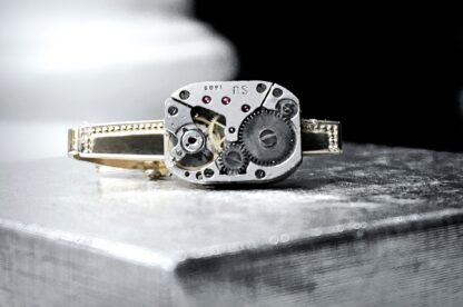Steampunk jewelry mens tie clip accessories