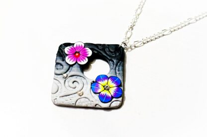 Hippie hippies clothing psychedelic necklace boho chic
