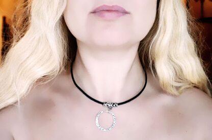 Bdsm submissive collar slave jewelry