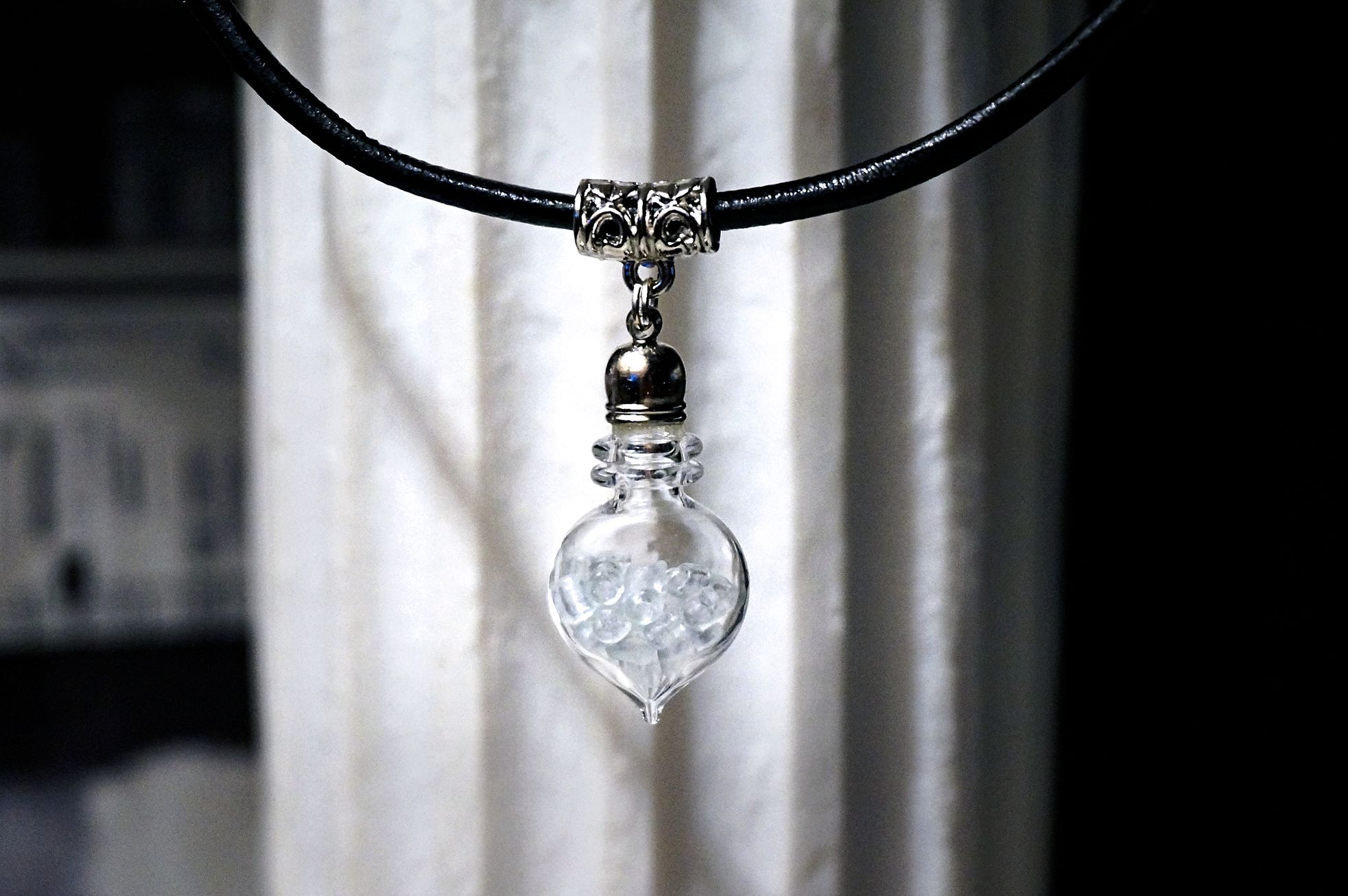 bottle necklace pendant