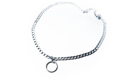 Submissive BDSM collar choker necklace