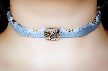 Submissive day collar choker bdsm