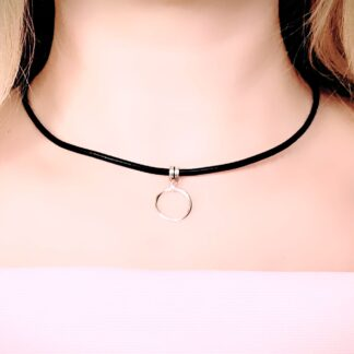 Submissive collar choker bdsm jewelry