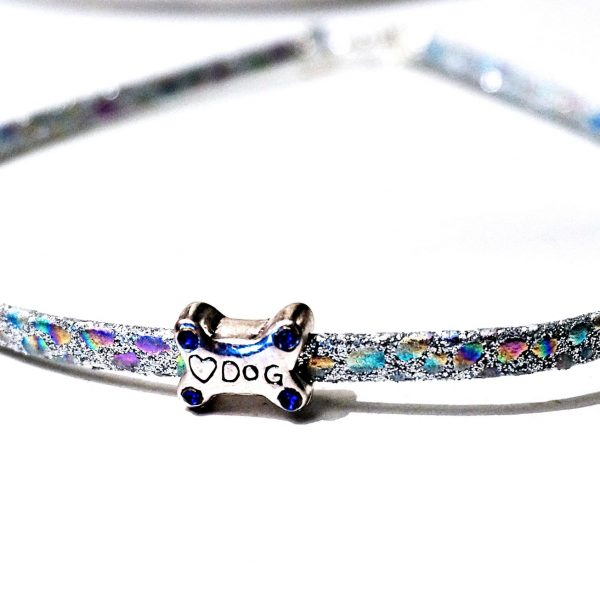 BDSM submissive collar subspace choker psychedelic