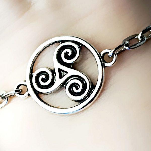BDSM bracelet jewelry symbol triskele