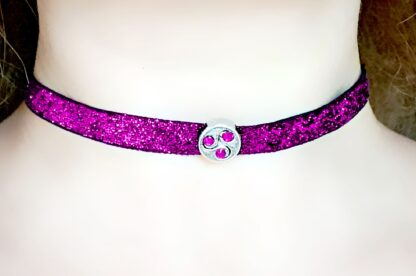 BDSM jewelry symbol triskele day collar