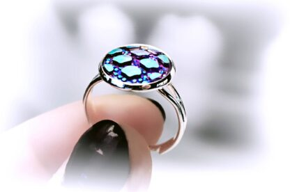 Ring psychedelic trance hippie hippies