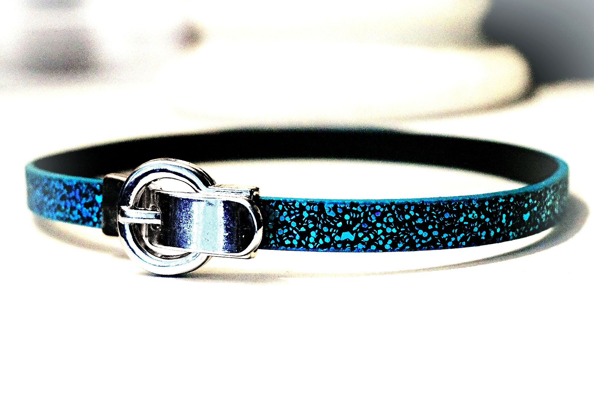 Submissive collar choker necklace Hippie Clothing psychedelic acid wear