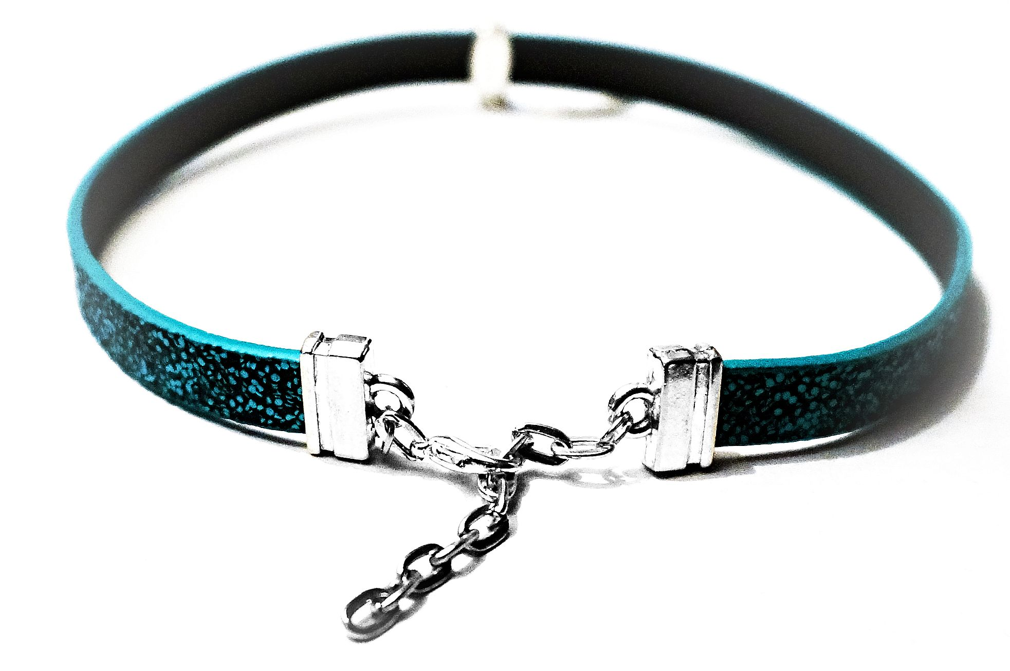 Submissive collar choker o ring necklace