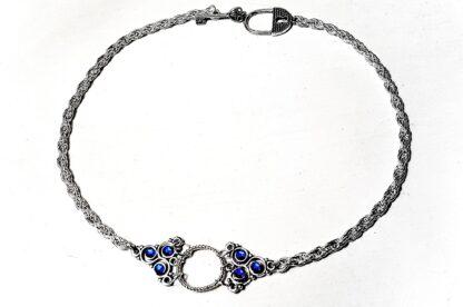 Submissive day collar Steampunk BDSM symbol triskele