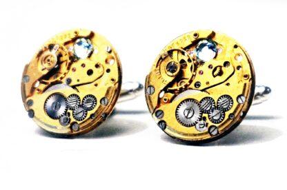 Steampunk BDSM mens jewelry cufflinks