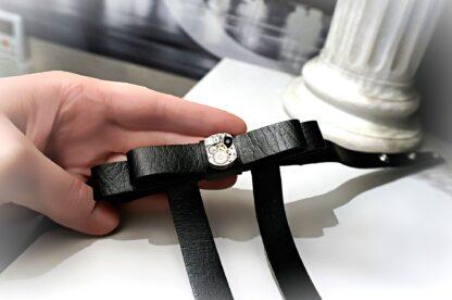 Стимпанк БДСМ сабмиссив ошейник чокер робот скелетон часы