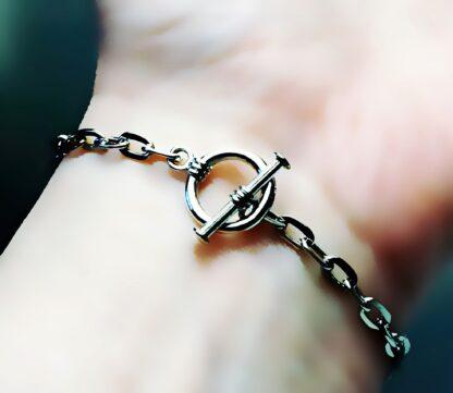 Сабмиссив доминант украшения Стимпанк БДСМ символ трискель браслет