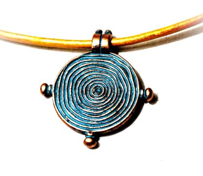 Hippies clothing trippy necklace psychedelic trance