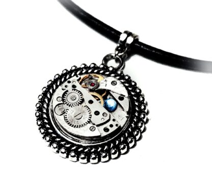 Steampunk BDSM jewelry submissive collar dominant necklace