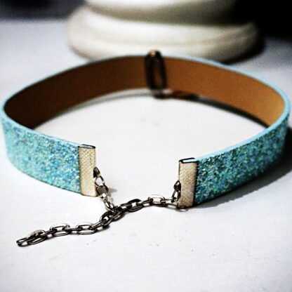 Submissive BDSM collar boho chic necklace hippie choker trippy jewelry