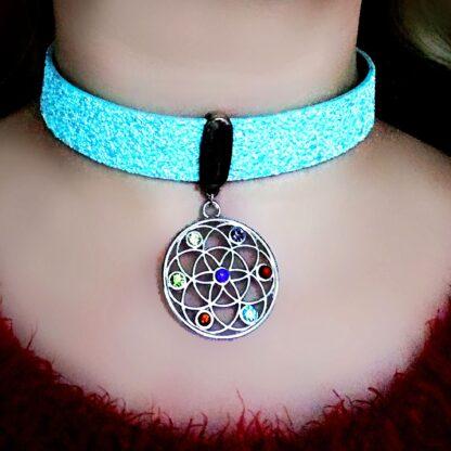 Trippy jewelry psychedelic trance acid wear pendant festival
