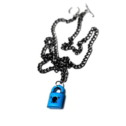 Day submissive collar BDSM jewelry lock necklace