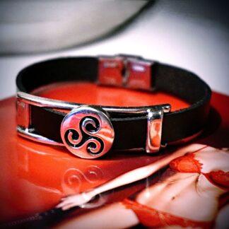 BDSM jewelry triskele bracelet