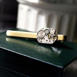 Mens jewelry tie clip dominant gift
