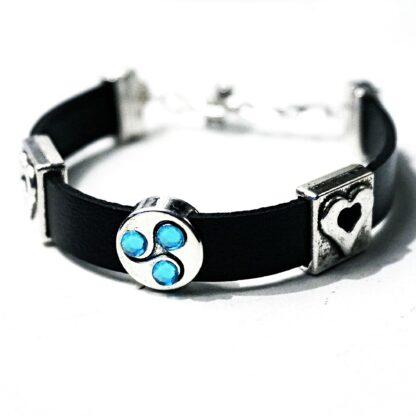 BDSM jewelry bracelet triskele symbol triskelion