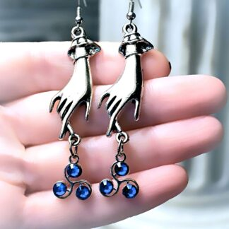 BDSM jewelry triskele emblem earrings Marrakesh