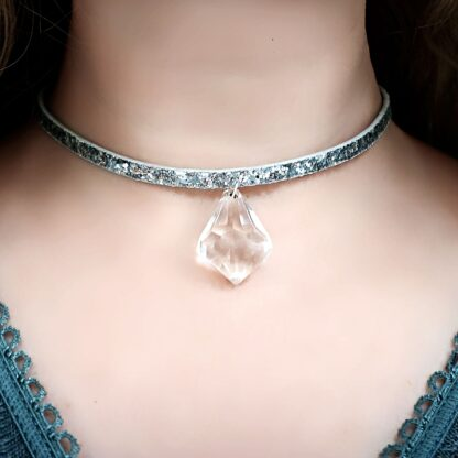 psychedelic necklace dominant fetish slave gift