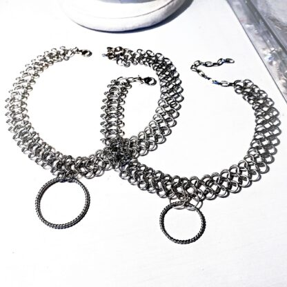 Submissive collar bdsm jewelry necklace
