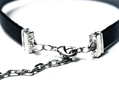 Submissive collar leather choker Steampunk BDSM