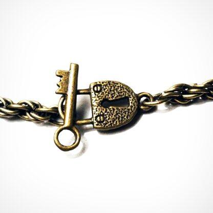 Сабмиссив ошейник Стимпанк БДСМ символ трискель