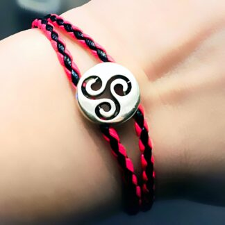 Стимпанк БДСМ украшения символ трискель шарм браслет