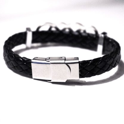 Bracelet shibari rope cuff leather fetish