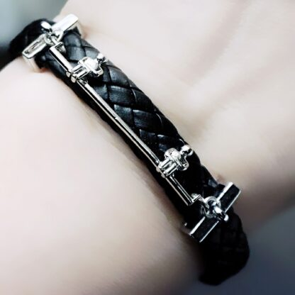 Alone together Steampunk BDSM jewelry submissive dominant bracelet