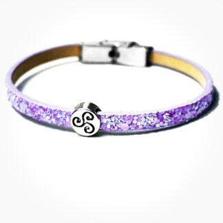 Стимпанк БДСМ украшения кожаный браслет шарм трискель символ трискелион