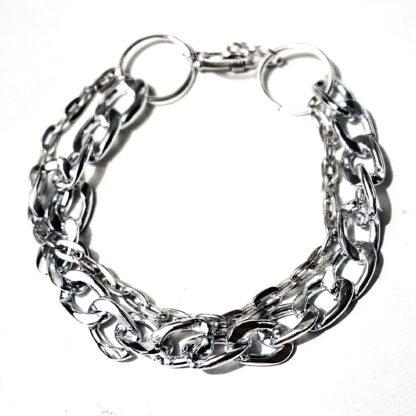 Стимпанк БДСМ украшения браслет металлический госпожа раб рабыня доминант подарок на день рождения Новый год девушке мужчине женский мужской
