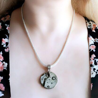 Стимпанк БДСМ украшения госпожа домина подвеска ожерелье часы киберпанк