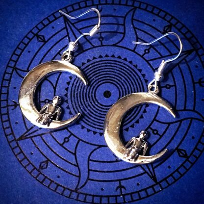 Steampunk BDSM jewelry earrings submissive dominant