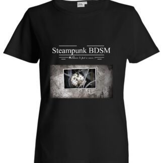 Steampunk BDSM clothing t-shirt apocalyptic cyberpunk submissive dominant