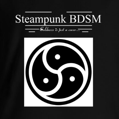 Steampunk BDSM clothing t-shirt triskele symbol