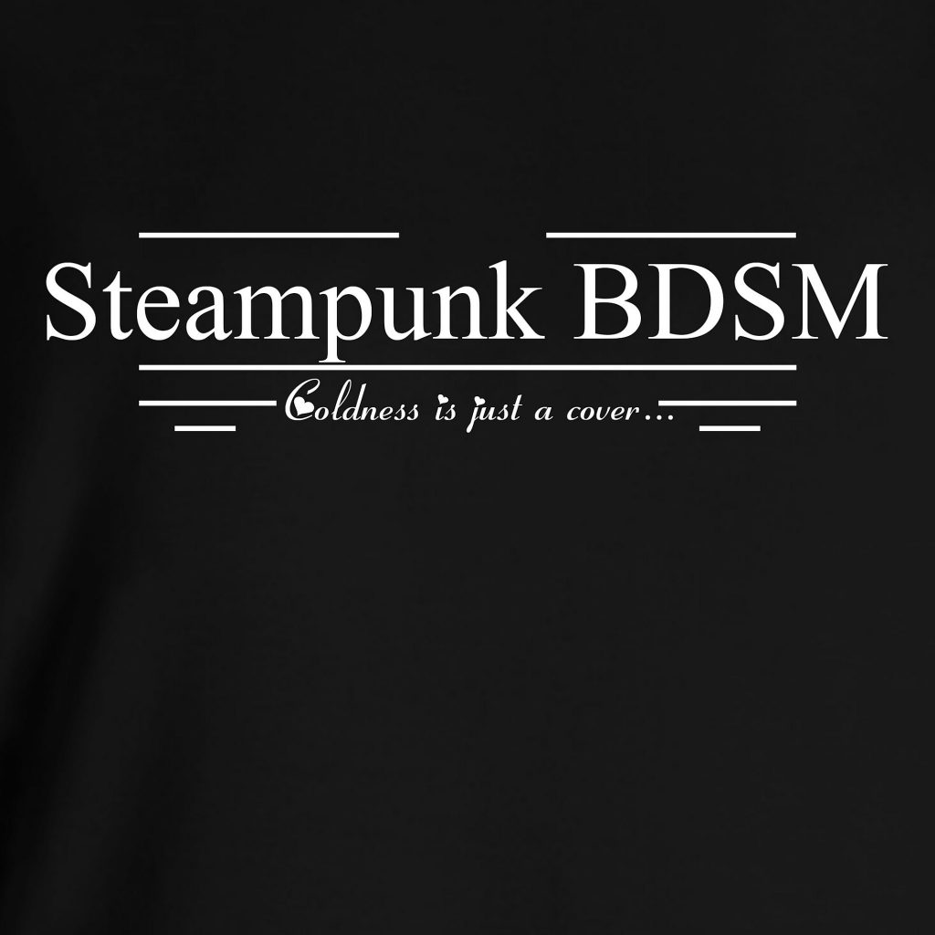 Steampunk BDSM clothing t-shirt with sayings submissive dominant