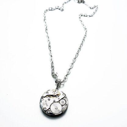 Steampunk BDSM jewelry chain necklace rubies mistress