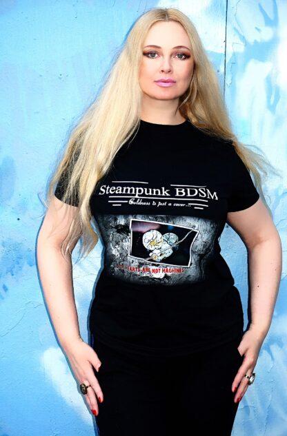 Стимпанк БДСМ одежда футболка мужская женская апокалиптический киберпанк