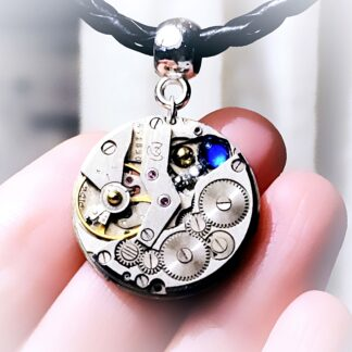 Steampunk BDSM jewelry dominatrix mistress woman necklace