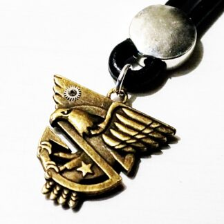 Steampunk BDSM jewelry mens pendant wings dominant eagle necklace