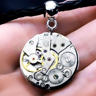 Steampunk BDSM jewelry mens necklace dominatrix mistress woman pendant