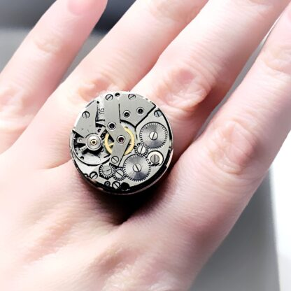 Steampunk BDSM jewelry ring dominatrix mistress dominant fetish