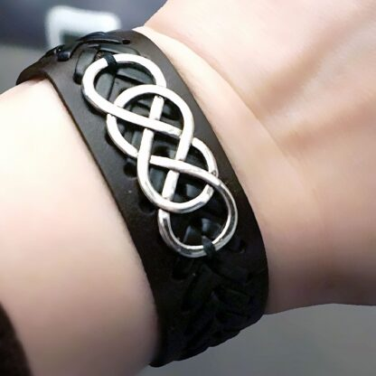 Steampunk BDSM jewelry submissive dominant bracelet shibari rope